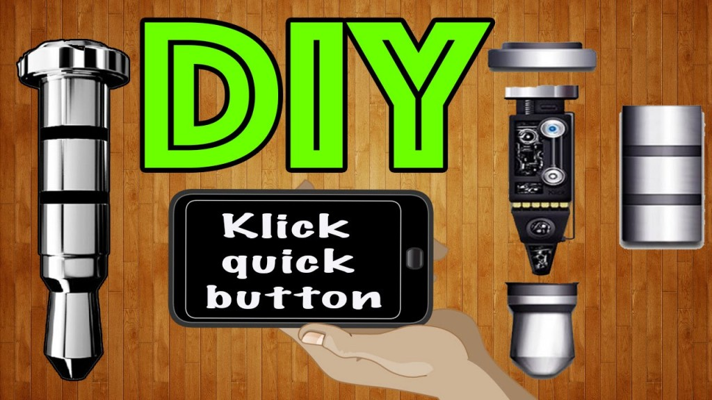 Как сделать Klick quick button своими руками / How to make a klick quick button