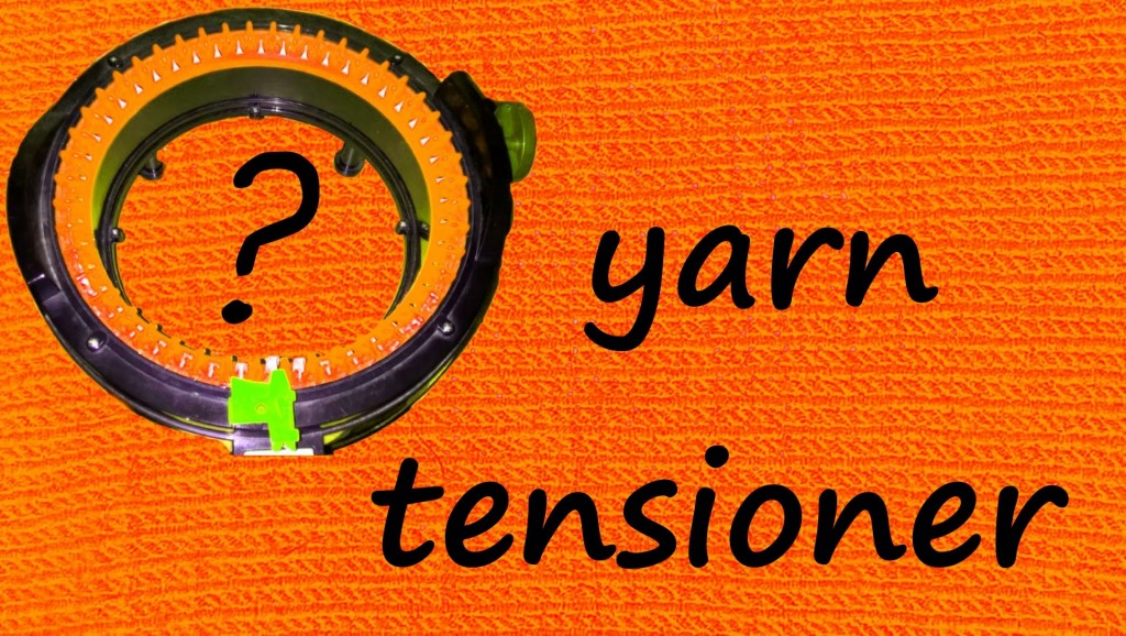 Yarn tensioner. How to Tension Your Yarn when Knitting on Adi Express.
